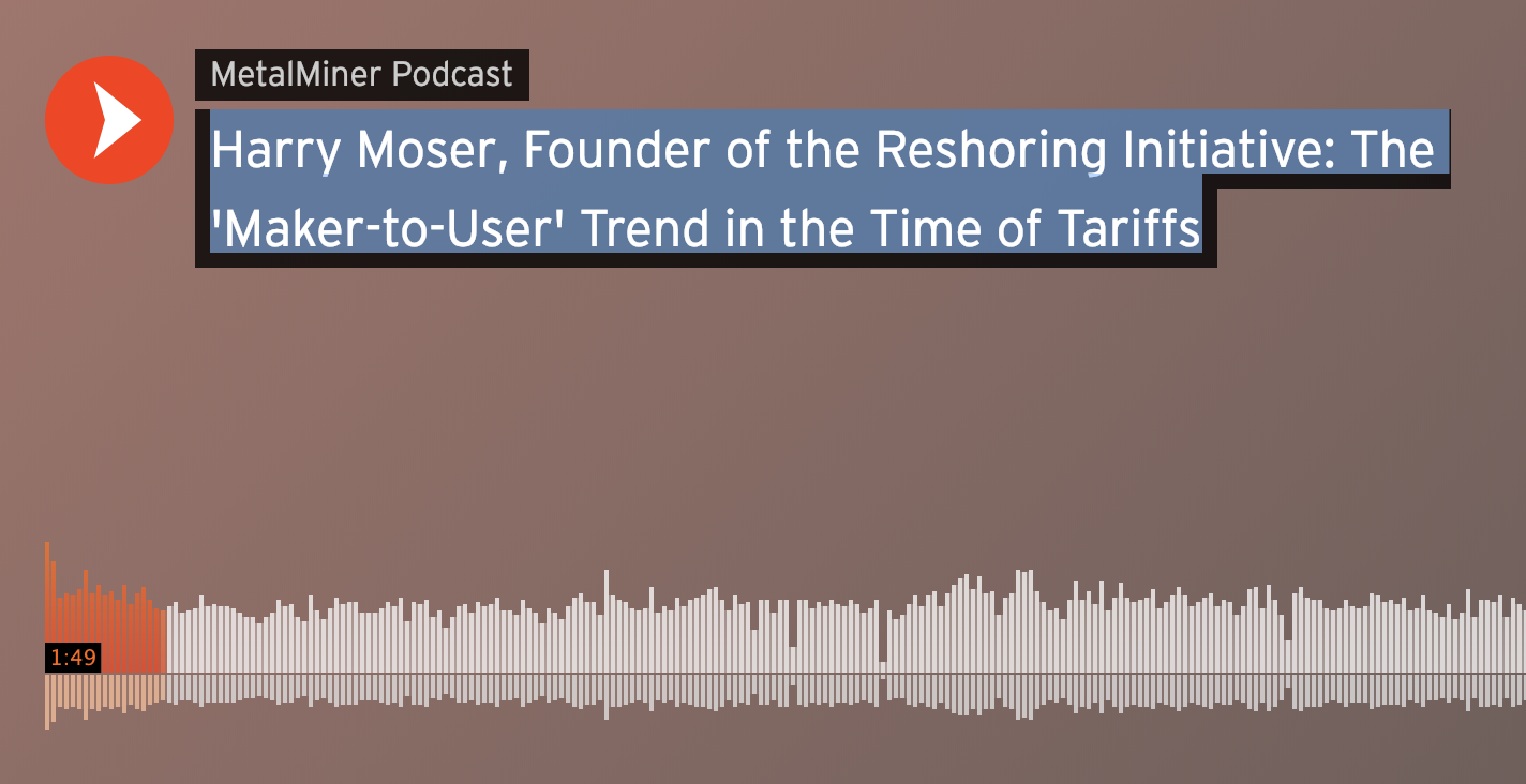 Harry Moser, Founder of the Reshoring Initiative: The 'Maker-to-User' Trend in the Time of Tariffs